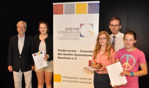 Verleihung der Goethepreise 2014
