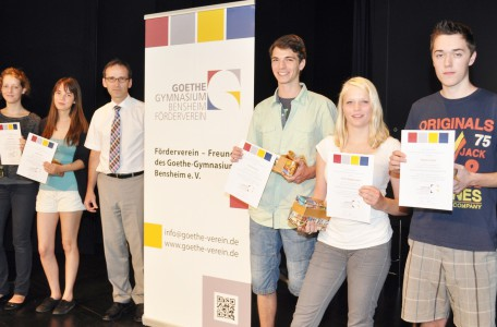 Verleihung der Goethe-Preise 2014