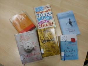 Neue Bücher für die Bibliothek